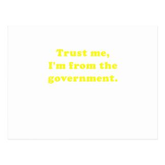 Confíeme en Im del gobierno Postal