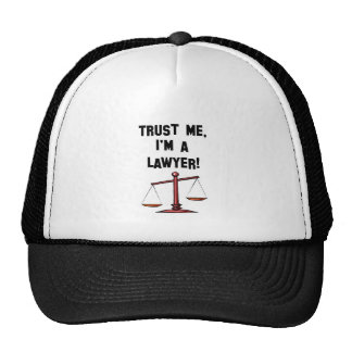 Confíeme en Im un abogado Gorras De Camionero