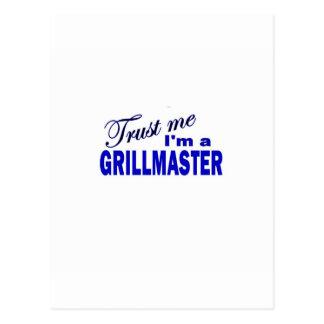 Confíeme en I'ma Grillmaster Postal