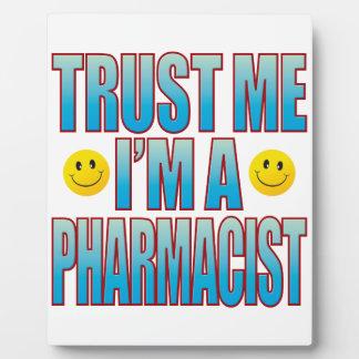 Confíeme en la vida B del farmacéutico Placas De Plastico