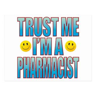 Confíeme en la vida B del farmacéutico Tarjetas Postales