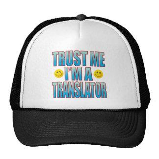 Confíeme en la vida B del traductor Gorras