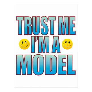 Confíeme en la vida modelo B Tarjetas Postales