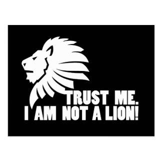 Confíeme en ¡No soy un león