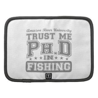 Confíeme en Ph D en la pesca Organizador