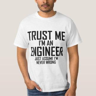 Confíeme en - soy ingeniero playera