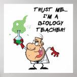 Confíeme en… Soy profesor de biología Poster