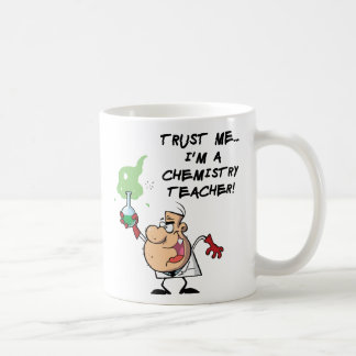 Confíeme en… Soy profesor de la química Taza Clásica