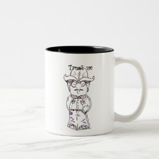 Confíeme en, taza de café
