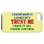 Confíeme en -- Todos bajo control iPhone 5 Carcasa