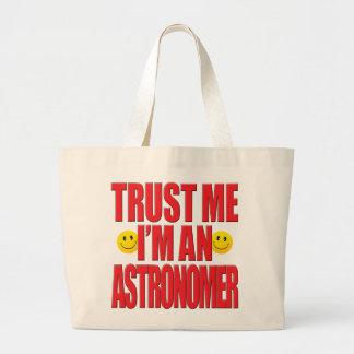 Confíeme en vida del astrónomo bolsa de mano