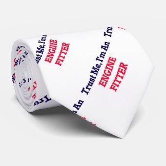 Confíeme en, yo son un ajustador del motor corbata personalizada
