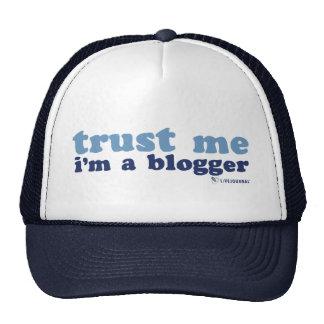 Confíeme en yo son un Blogger LiveJournal Gorros