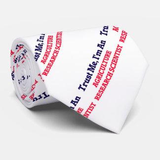 Confíeme en, yo son un científico de la corbatas personalizadas