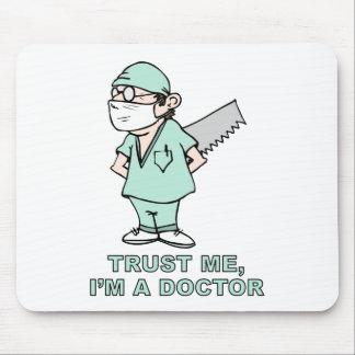 Confíeme en, yo son un doctor tapetes de ratones