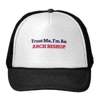 Confíeme en, yo son un obispo del arco gorra