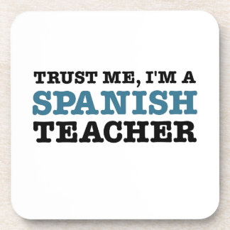 Confíeme en, yo son un profesor español posavaso