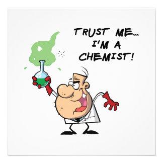 Confíeme en yo son un químico