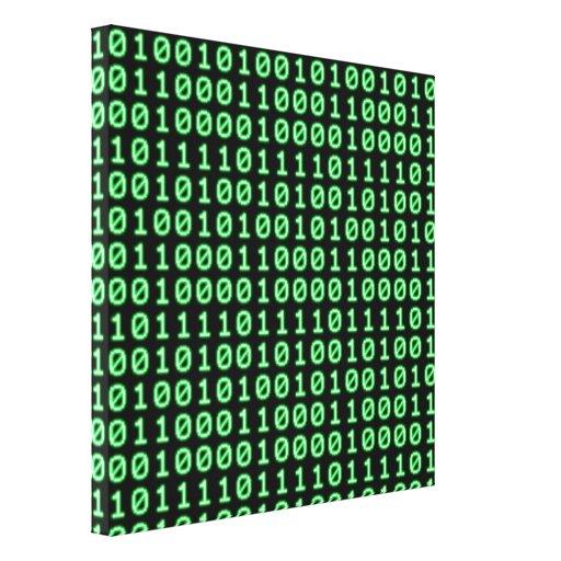 Configuración de bits impresión en lienzo