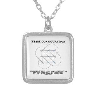 Configuración de Hesse (geometría) Colgante Cuadrado