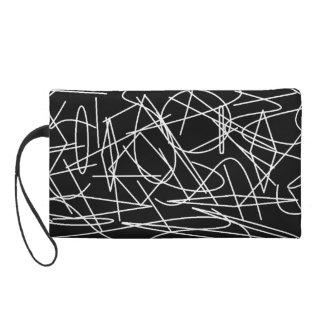 Configure graphic 101 wristlet purse