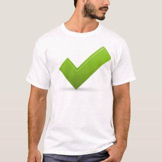 confirm-679245 GREEN CHECK MARK CORRECT SYMBOL LOG T-Shirt