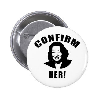 Confirm Her Products 2 Inch Round Button