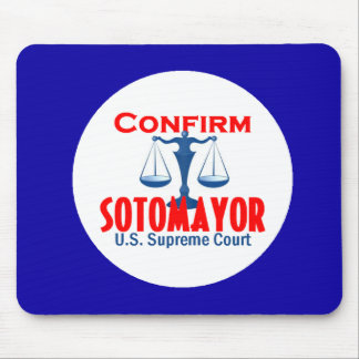 Confirm Sotomayor Mousepad