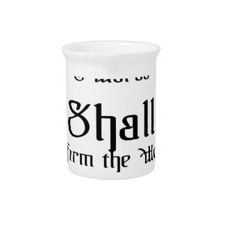 Confirm the words of the Lord Drink Pitcher