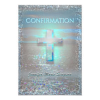 Confirmation Calm Waters Card