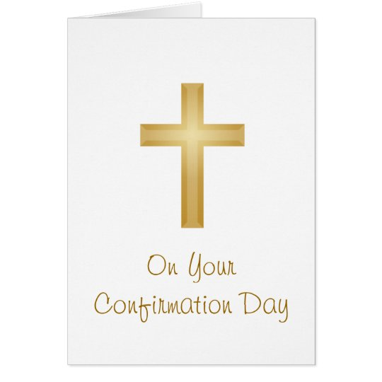 Confirmation Day Card