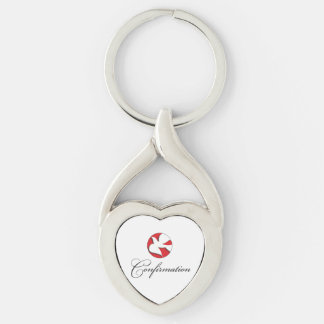 Confirmation, Dove, Gift Items Keychain