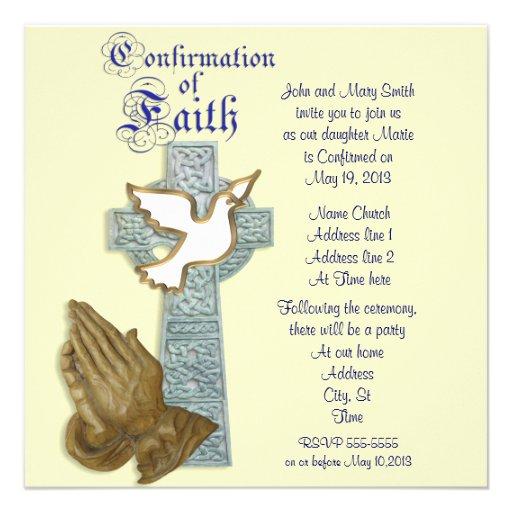 Personalized Catholic Invitations | CustomInvitations4U.com