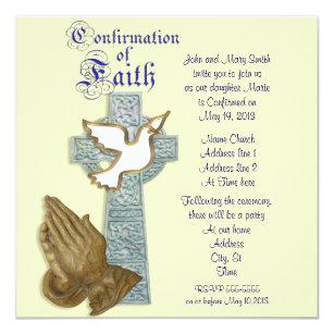 celtic cross invitations zazzle