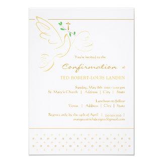 """Confirmation Invitation 5"""" X 7"""" Invitation Card"""