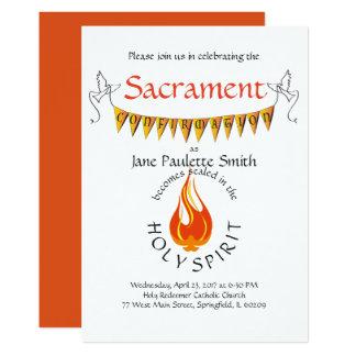Confirmation Invite/Announcement: Vibrant Card
