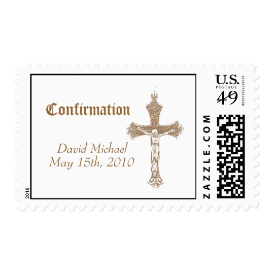 Confirmation Postage Stamp