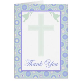 Confirmation Thank You Card