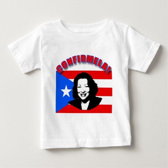 CONFIRMELA Con Bandera de Puerto Rico Baby T-Shirt