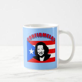 CONFIRMELA Con Bandera de Puerto Rico Coffee Mug