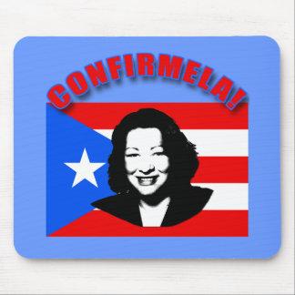 CONFIRMELA Con Bandera de Puerto Rico Mouse Pad
