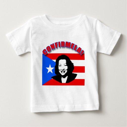 CONFIRMELA Con Bandera de Puerto Rico T Shirt