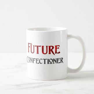 Confitero futuro taza básica blanca