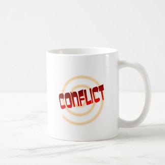conflict coffee mug
