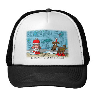 Conflicted about the holidays? trucker hat