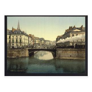 Confluence of Edre (i.e., Erdre) and Loire, Nantes Postcard