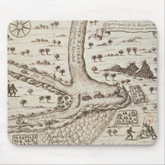 Confluence of the Niger Mouse Pad