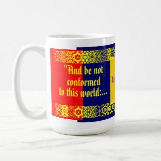 """Conform Not"" Classic White Coffee Mug"