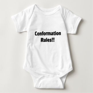 Conformation Rules Baby Bodysuit