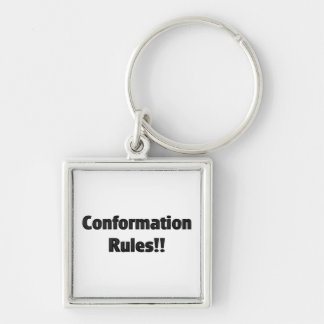 Conformation Rules Key Chains